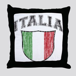ITALIA (light colored product Throw Pillow