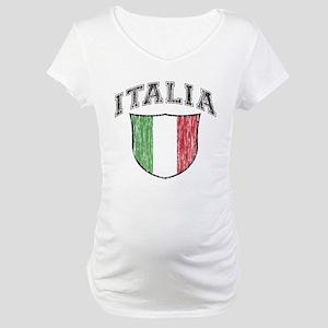 ITALIA (light colored product Maternity T-Shirt