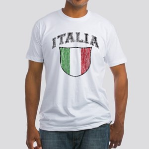ITALIA (light colored product Fitted T-Shirt