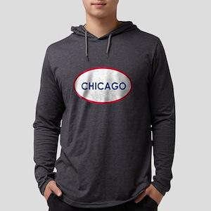 Chicago White Stone Long Sleeve T-Shirt