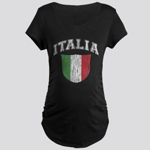 ITALIA (dark shirts) Maternity Dark T-Shirt