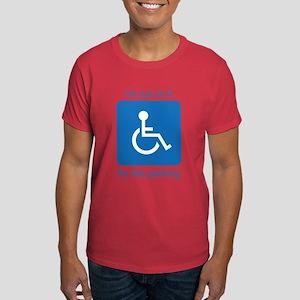 Handy Cap Parking Dark T-Shirt