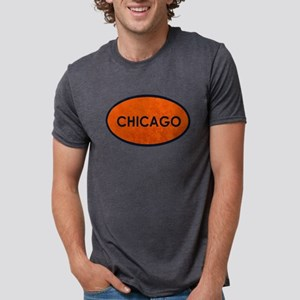 Chicago Blue Orange Stone T-Shirt