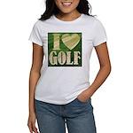 I Love Golf Women's T-Shirt