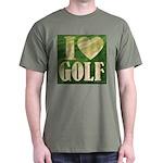 I Love Golf Dark T-Shirt