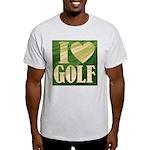 I Love Golf Light T-Shirt