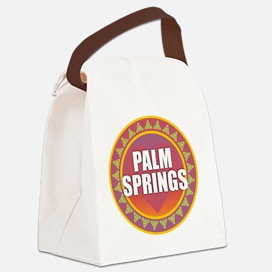 Palm Springs Sun Canvas Lunch Bag