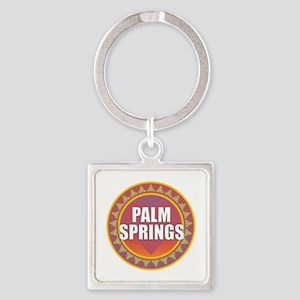 Palm Springs Sun Keychains
