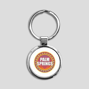 Palm Springs Sun Keychains