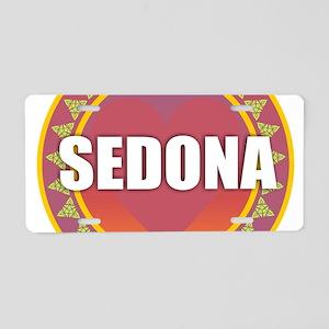 Sedona Sun Aluminum License Plate