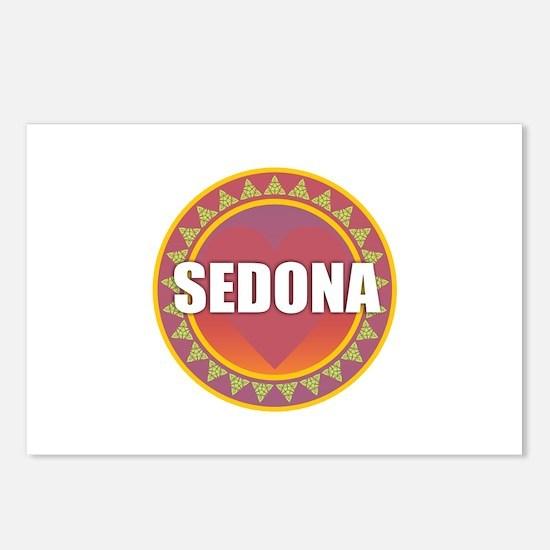 Sedona Sun Heart Postcards (Package of 8)