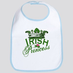 Irish Princess Tiara Bib