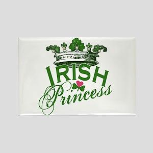 Irish Princess Tiara Rectangle Magnet