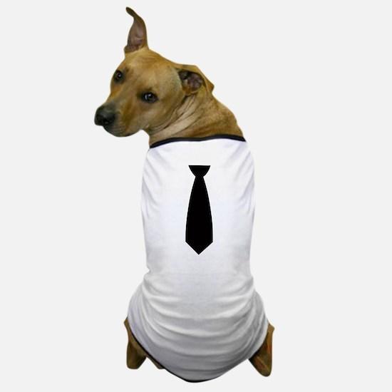 Neck Tie Dog T-Shirt