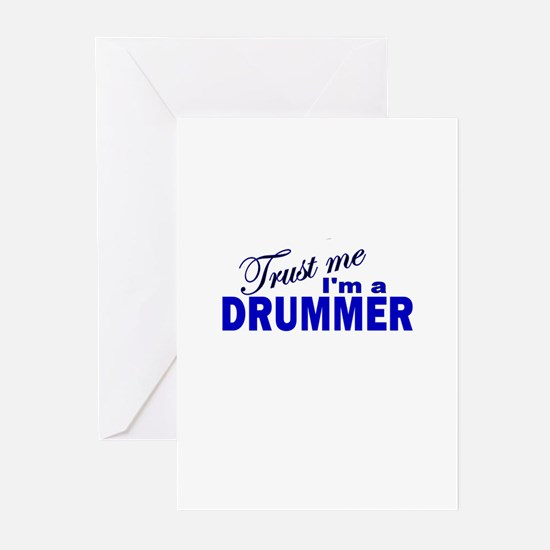 Trust Me I'm a Drummer Greeting Cards (Pk of 10)