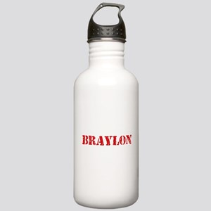 Braylon Rustic Stencil Stainless Water Bottle 1.0L