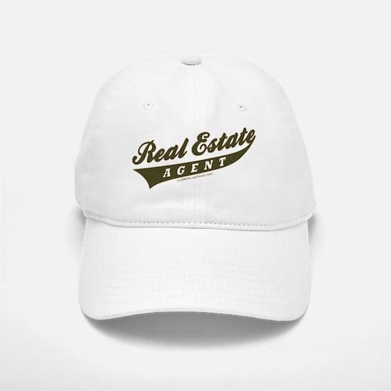 ATHLETE (Khaki Brown) Baseball Baseball Cap for the Realtor