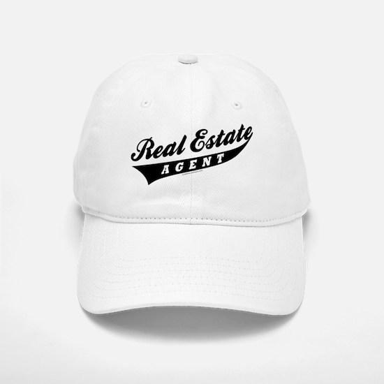 ATHLETE (Black) Baseball Baseball Cap for the Realtor