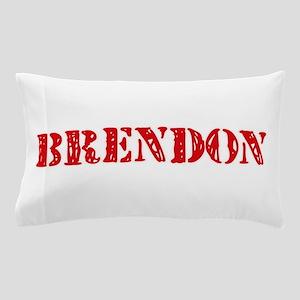 Brendon Rustic Stencil Design Pillow Case