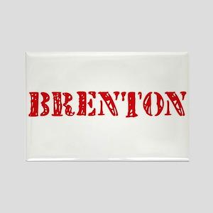 Brenton Rustic Stencil Design Magnets