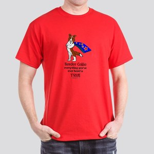 Super Border Collie-red Dark T-Shirt