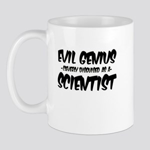 """""""Evil Genius cleverly disguised as a Scientist"""" Mu"""