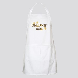 Old Dogs Rule BBQ Apron