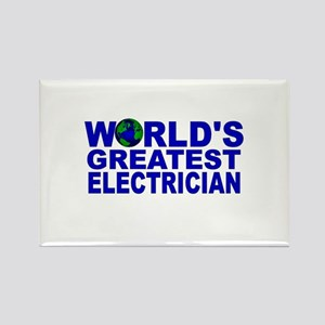 World's Greatest Electrician Rectangle Magnet