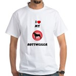 Rottweiler Gifts White T-Shirt