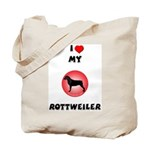 Rottweiler Gifts Tote Bag