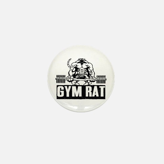 Gym Rat Mini Button