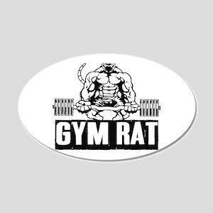 Gym Rat Wall Decal