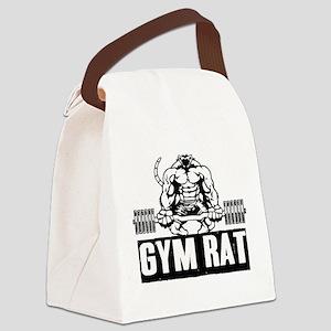Gym Rat Canvas Lunch Bag
