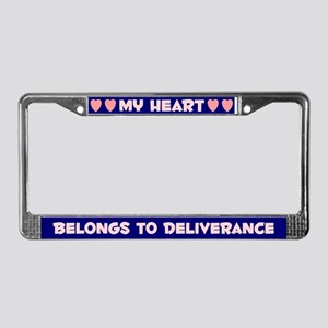 My Heart: Deliverance (#008) License Plate Frame