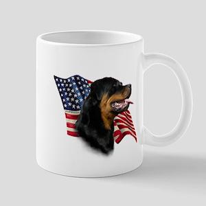 Rottweiler Flag Mugs