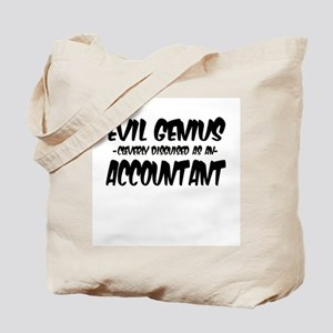 Evil Genius cleverly disguised as an Acco Tote Bag