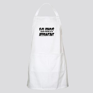 Evil Genius cleverly disguised as an Account Apron