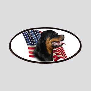Rottweiler Flag Patch