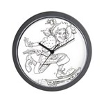 Clown series Wall Clock