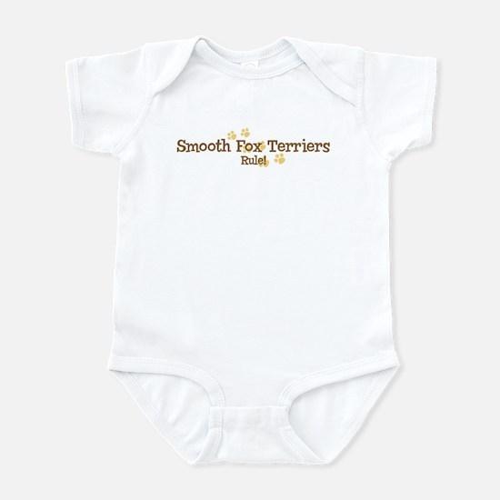 Smooth Fox Terriers Rule Infant Bodysuit