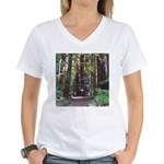 Redwood Trail Women's V-Neck T-Shirt