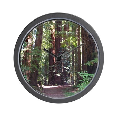 Redwood Trail Wall Clock