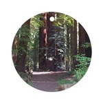 Redwood Trail Ornament (Round)