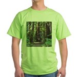 Redwood Trail Green T-Shirt