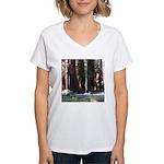 The Redwood Highway Women's V-Neck T-Shirt