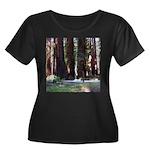The Redwood Highway Women's Plus Size Scoop Neck D
