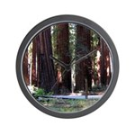 The Redwood Highway Wall Clock