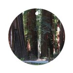 The Redwood Highway Ornament (Round)