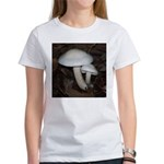 White Mushrooms Women's T-Shirt
