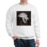 White Mushrooms Sweatshirt